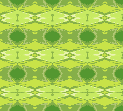 Frog on a Lily Pad fabric by susaninparis on Spoonflower - custom fabric