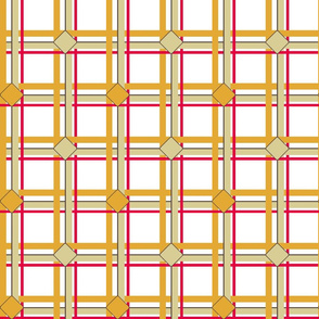 Ice Box Plaid 2 - Retro Kitchen
