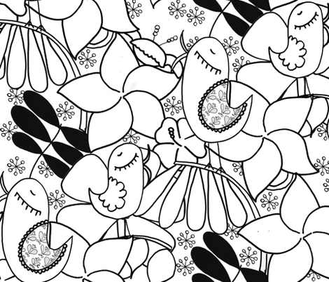 Scrapbook fabric by natitys on Spoonflower - custom fabric
