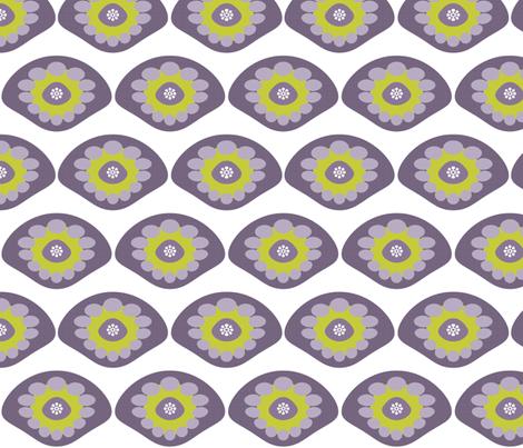 Purple Shell fabric by brainsarepretty on Spoonflower - custom fabric