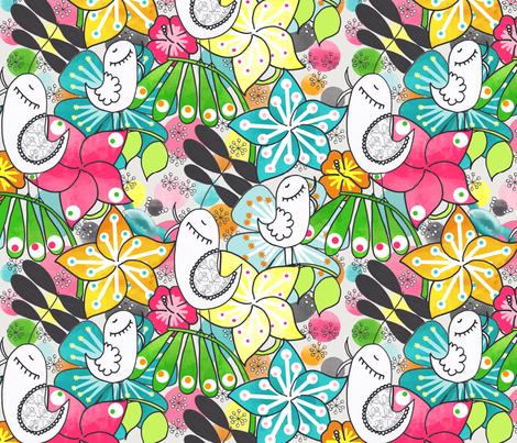 Lush fabric by natitys on Spoonflower - custom fabric