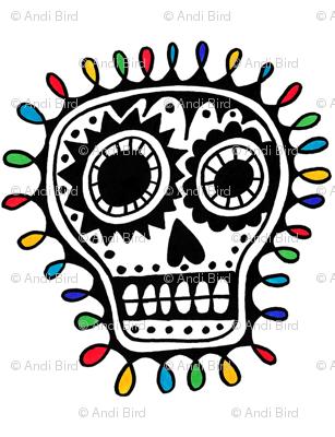 Sharpie Sugar Skull