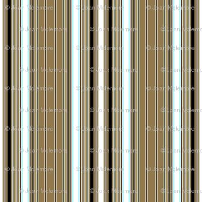 Retro Gardenia stripe coordinate
