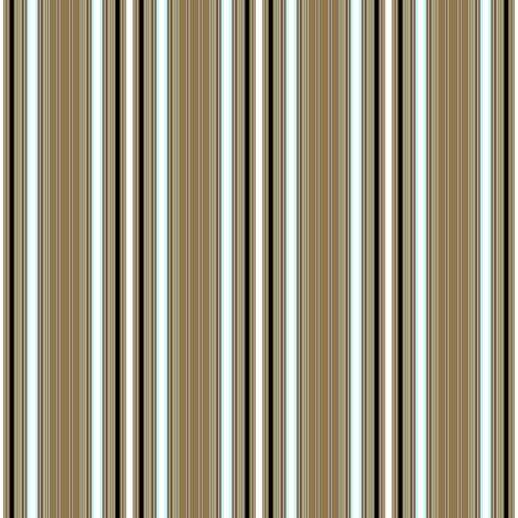 Retro Gardenia stripe coordinate fabric by joanmclemore on Spoonflower - custom fabric