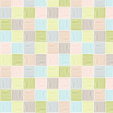 Colorful Checks fabric by alisontauber on Spoonflower - custom fabric