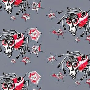 Skully Skull Spider