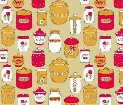 AmandaMcGee_CookieJars fabric by amandamcgee on Spoonflower - custom fabric