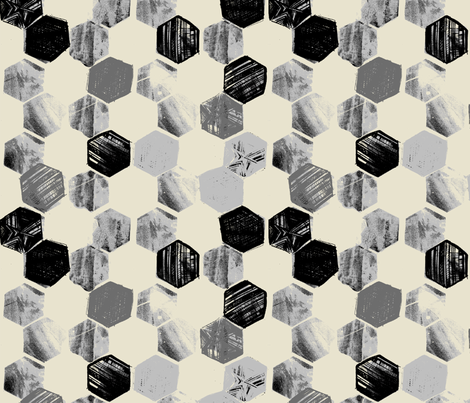 HEX_SHADOW fabric by pattern_state on Spoonflower - custom fabric