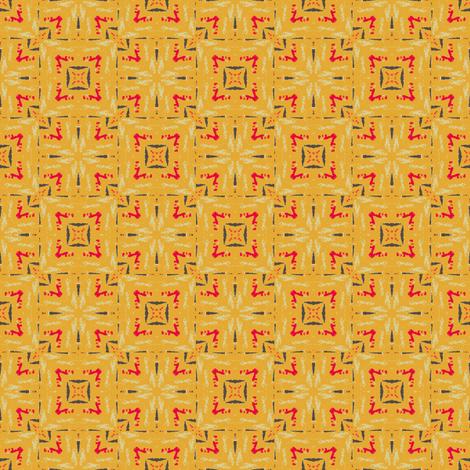 Retro Linoleum fabric by bargello_stripes on Spoonflower - custom fabric