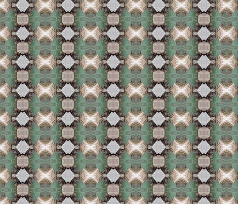 Rocks and Waves fabric by zsmama on Spoonflower - custom fabric