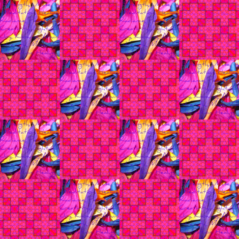 Peter's Painted Petals 23 fabric by dovetail_designs on Spoonflower - custom fabric