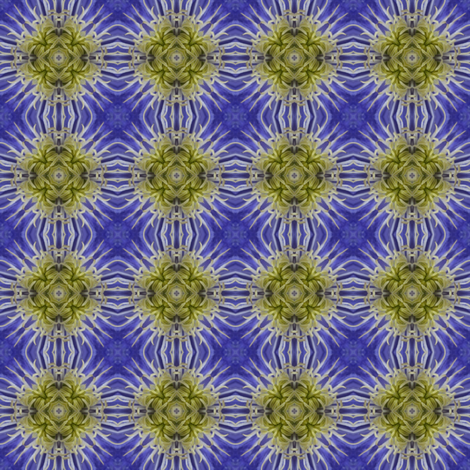 Flower Power - Clematis 1 fabric by dovetail_designs on Spoonflower - custom fabric