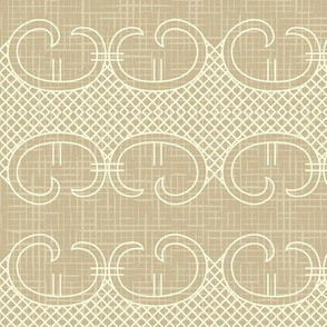 Ornate vintage seamless pattern