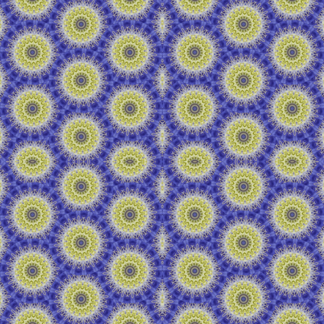 Flower Power - Clematis 12 fabric by dovetail_designs on Spoonflower - custom fabric