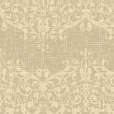 floral burlap pattern fabric by antuanetto on Spoonflower - custom fabric - Floral Burlap Pattern Wallpaper - Antuanetto - Spoonflower