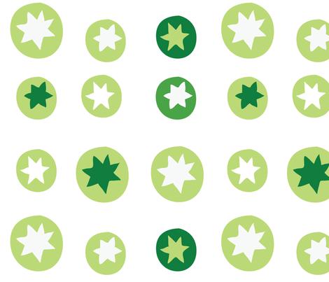mini_pattern_green-01 fabric by katja_saburova on Spoonflower - custom fabric