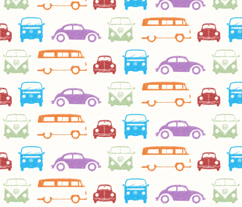 Campers & Beetles fabric by sterikal on Spoonflower - custom fabric