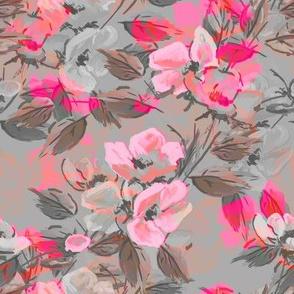 Rockabilly Rose Pink 2 tone