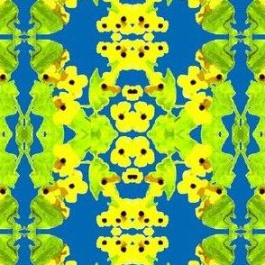 Yellow Flower Trellis