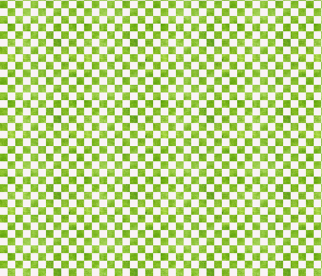 Avocado White Check fabric by countrygarden on Spoonflower - custom fabric