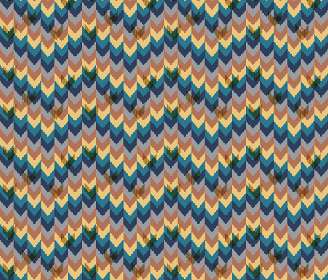 Chevrons In Repeat: Small fabric by stephanie on Spoonflower - custom fabric