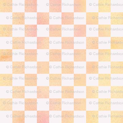 Orange Sherbet Check