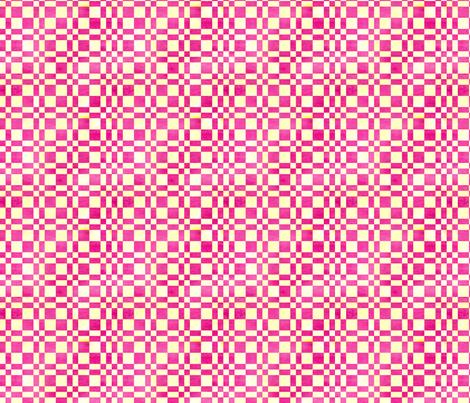 Raspberry Lemon Plaid fabric by countrygarden on Spoonflower - custom fabric