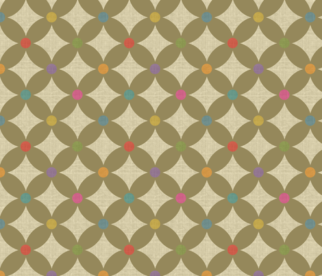 Carnival Dots fabric by littlerhodydesign on Spoonflower - custom fabric