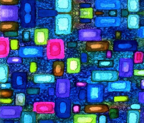 GEMSNJEWELS fabric by bluevelvet on Spoonflower - custom fabric
