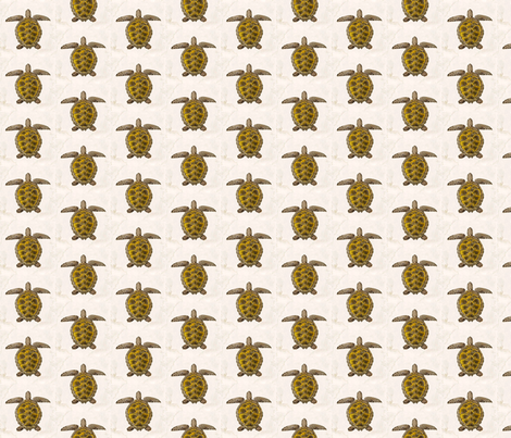 Sea Turtles fabric by flyingfish on Spoonflower - custom fabric