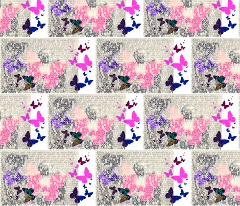 Fairy tale by E. van de Craats 2012 fabric by _vandecraats on Spoonflower - custom fabric