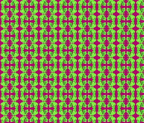 Rhubarb Leaf Formal  fabric by robin_rice on Spoonflower - custom fabric