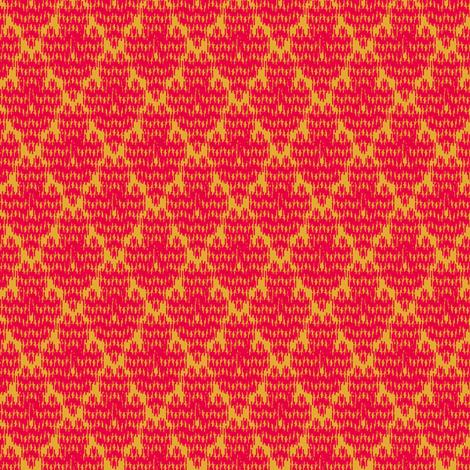 retro diamond ikat fabric by meredithjean on Spoonflower - custom fabric