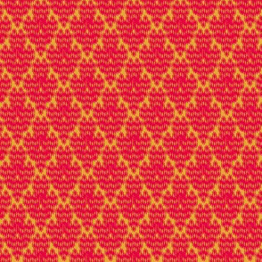 retro diamond ikat