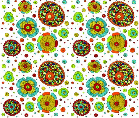 whimsical_garden_spoonflower fabric by vlorimer on Spoonflower - custom fabric