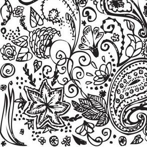 Herbal doodles