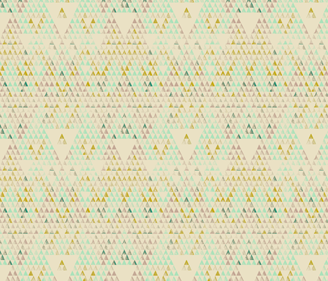 Triangle Lake fabric by pattern_state on Spoonflower - custom fabric