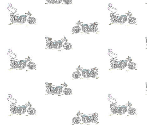 summer picnic fabric by megananne on Spoonflower - custom fabric
