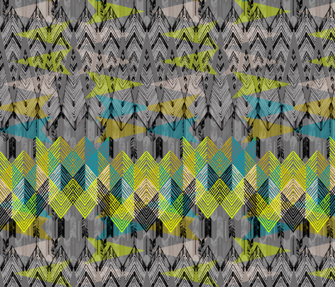 ARROW GEOMETRY fabric by pattern_state on Spoonflower - custom fabric