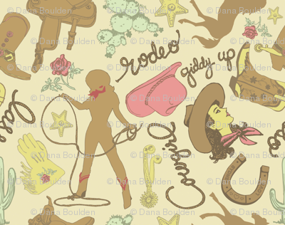 Cowgirl Fabric