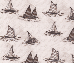 Antique Sailboats - Sepia