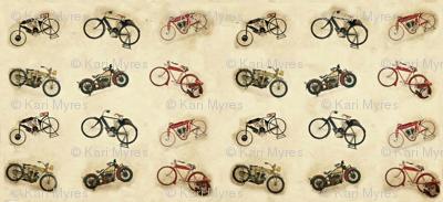 6 little Indian bikes no logo