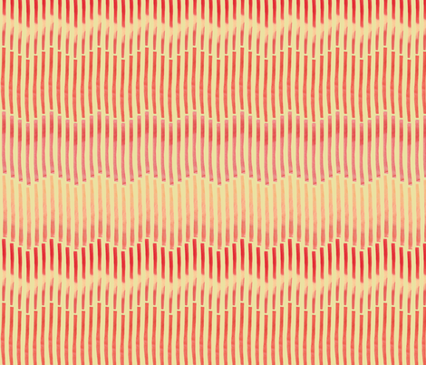 Granada_Chevron_crimson_yellow_field fabric by bee&lotus on Spoonflower - custom fabric
