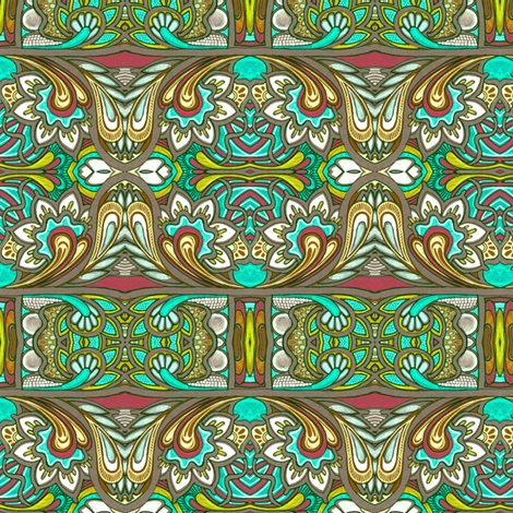 When Heidi Comes Home fabric by edsel2084 on Spoonflower - custom fabric