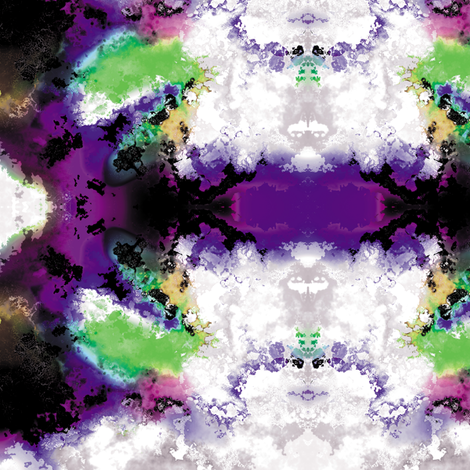 Fractal Clouds 2 fabric by animotaxis on Spoonflower - custom fabric