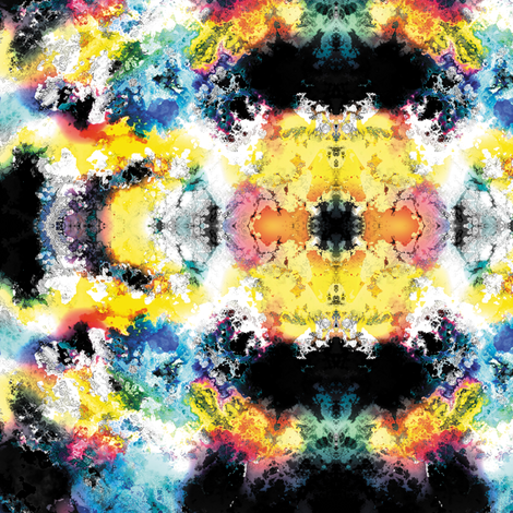 Fractal Clouds 6 fabric by animotaxis on Spoonflower - custom fabric