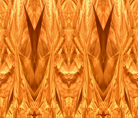 Golden warp fabric by anniedeb on Spoonflower - custom fabric