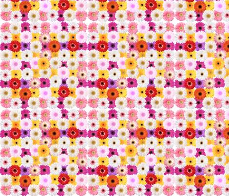 Fleurs 2 fabric by manureva on Spoonflower - custom fabric