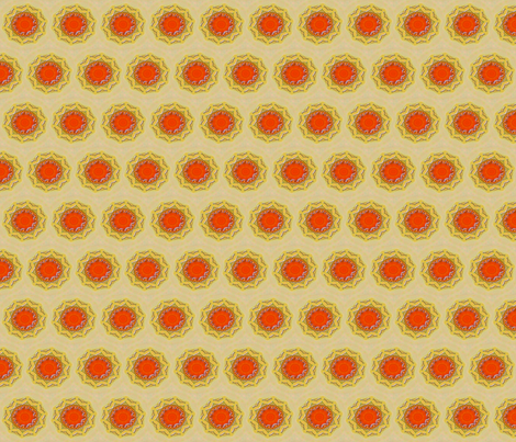 19th Century Sun fabric by anniedeb on Spoonflower - custom fabric