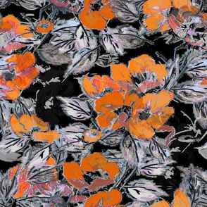 Rockabilly Rose Orange